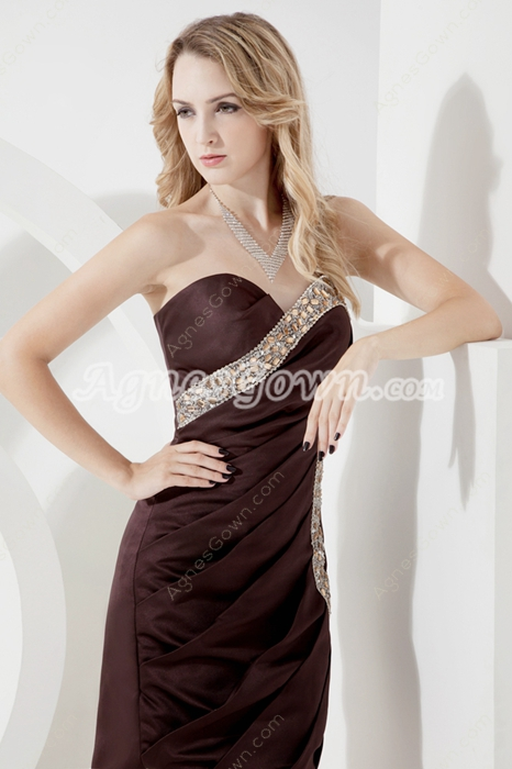 Stylish Chocolate Homecoming Dress 2016