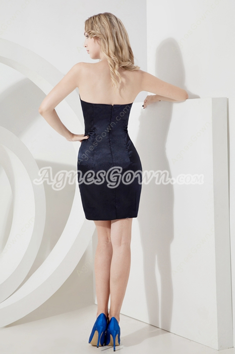 Sexy Strapless Sheath Little Black Dresses