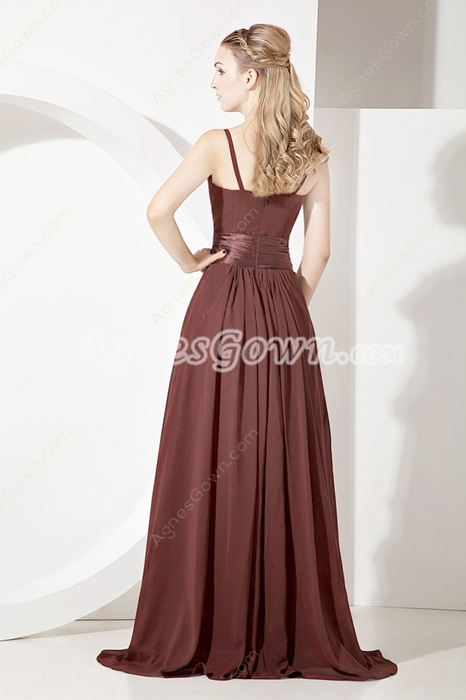 Mystique A-line Chiffon Mother Of The Bride Dresses With Frills