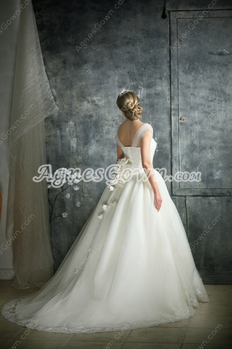 Elegant 2016 Princess Ball Gown Wedding Dress