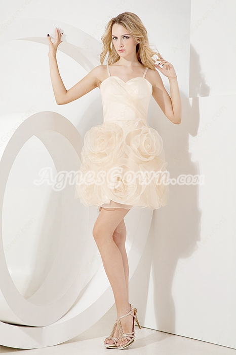Adorable Spaghetti Straps Sweet 16 Dresses