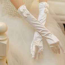Cute Bowknot Bridal Gloves