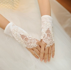 Cute Fingerless Gloves Short Length