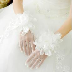 Organza Flower Gloves