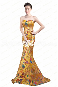 Special Mermaid Formal Celebrity Evening Dress