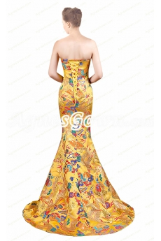 Special Mermaid Formal Celebrity Evening Dress