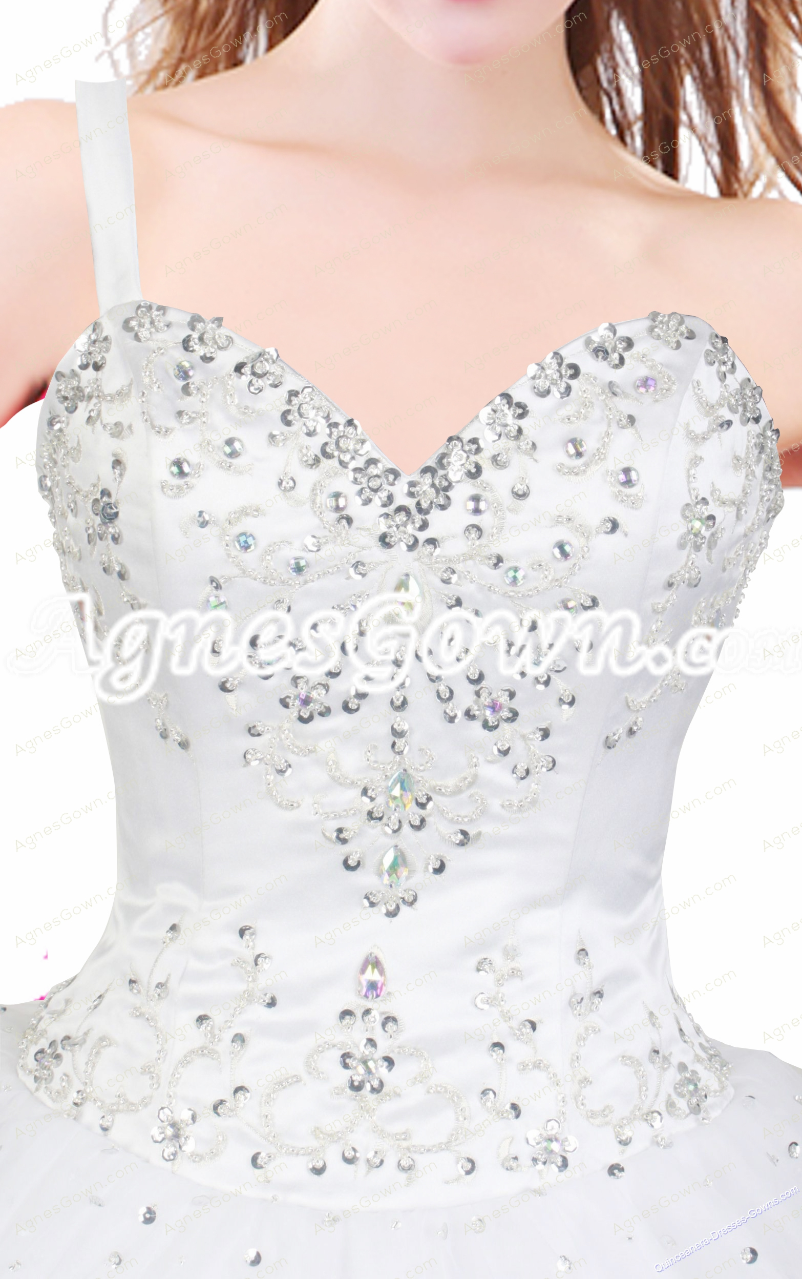 Impressive One Straps Ball Gown Quinceanera Dress