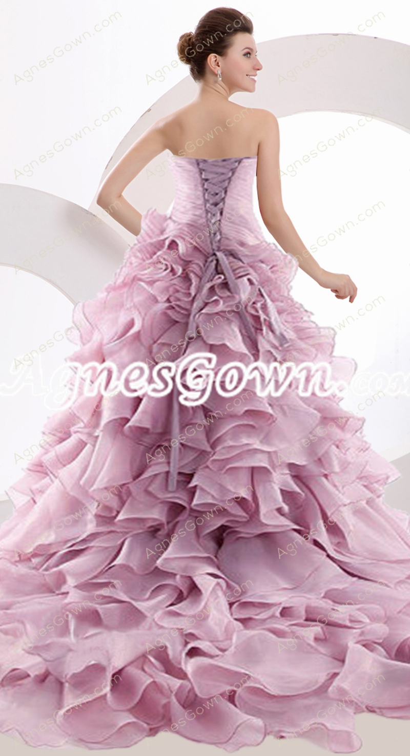 Gorgeous Lilac Prom Dress 2016