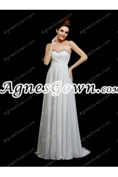 Noble Empire Ivory Maternity Wedding Dress With Lace