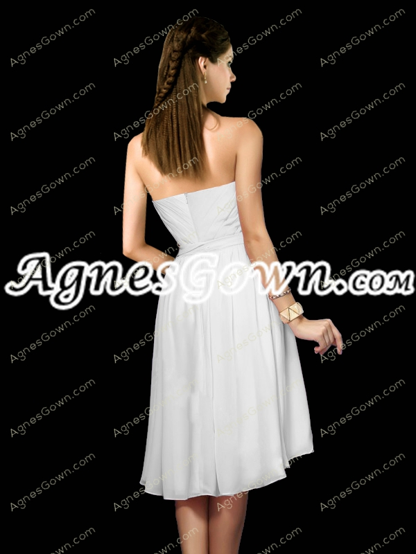 Noble High Low Hem Bridesmaid Dress With Sash